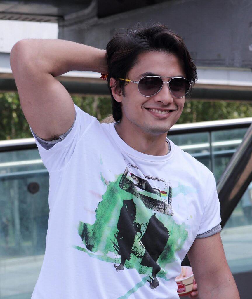 Singer Ali Zafar