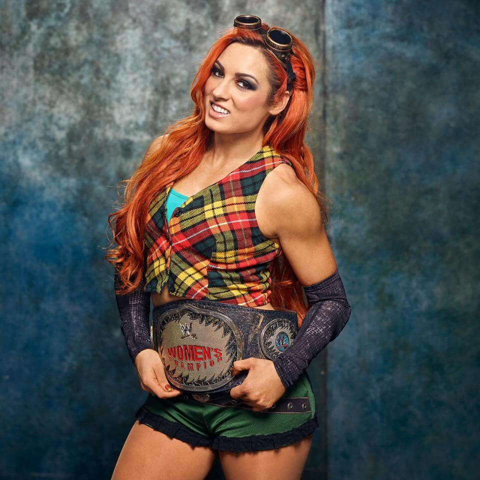 Irish WWE star Becky Lynch