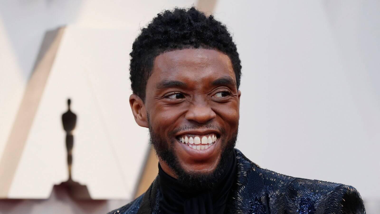 Chadwick Boseman Black Panther Star
