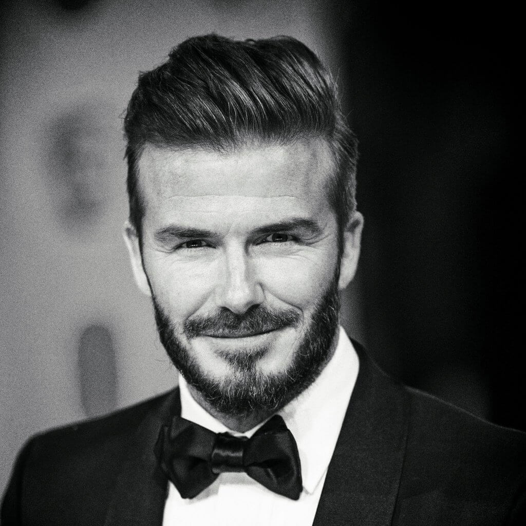 David beckham biography for David beckham