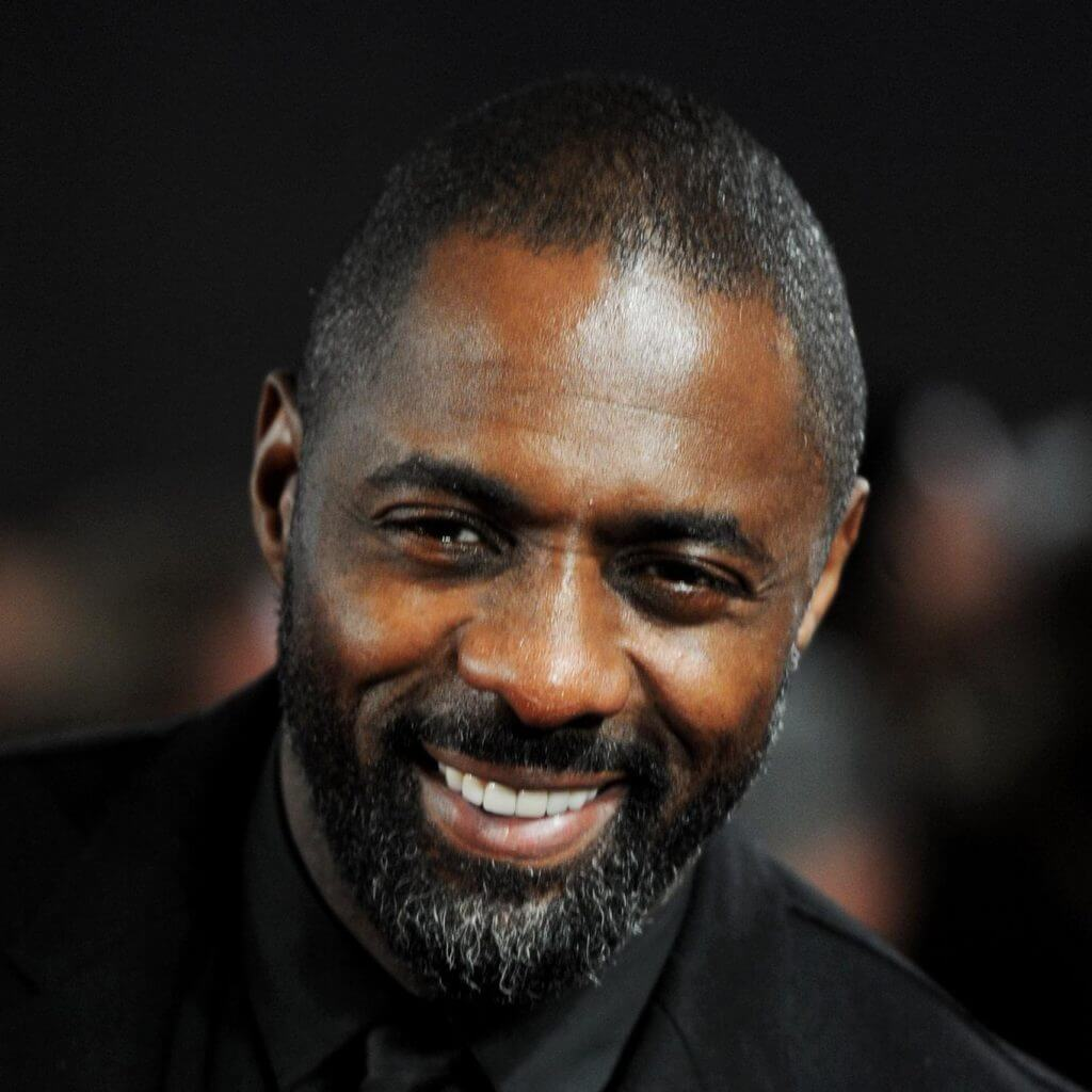 Idris Elba attends the world premiere of Les Miserables