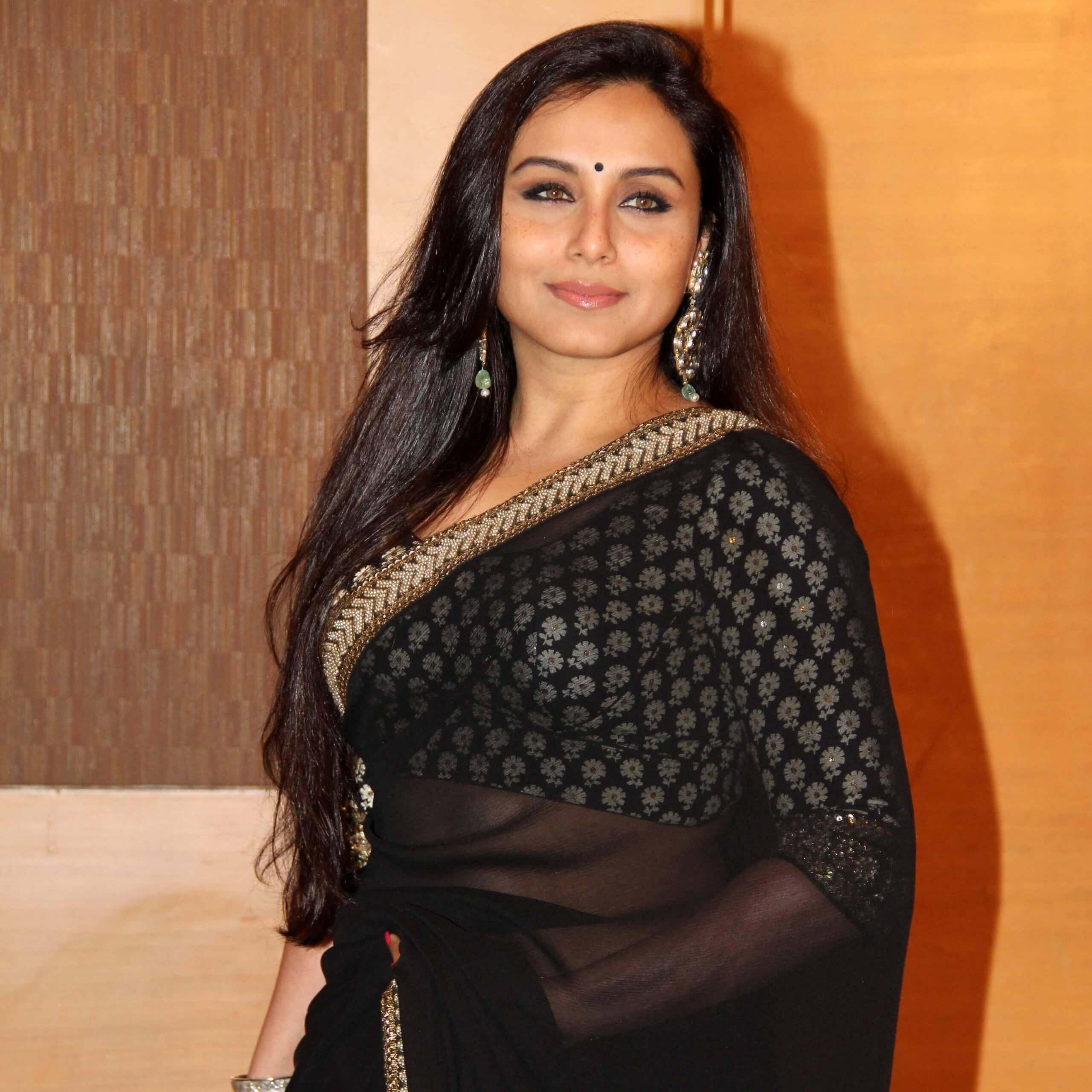 Actress Rani Mukherjee