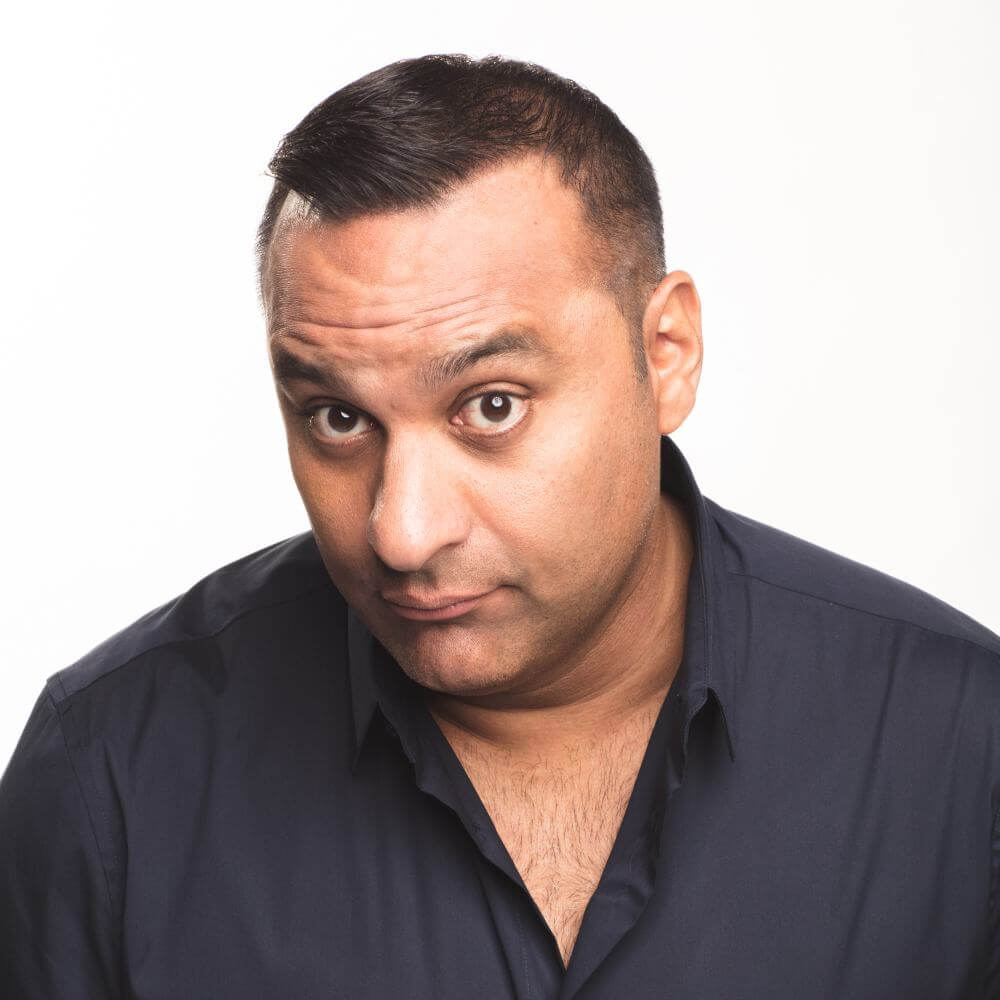 Russell Peters Russell Peters new photo