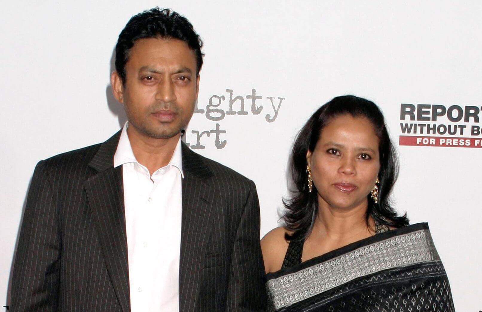 Sutapa Sikdar & Irrfan Khan