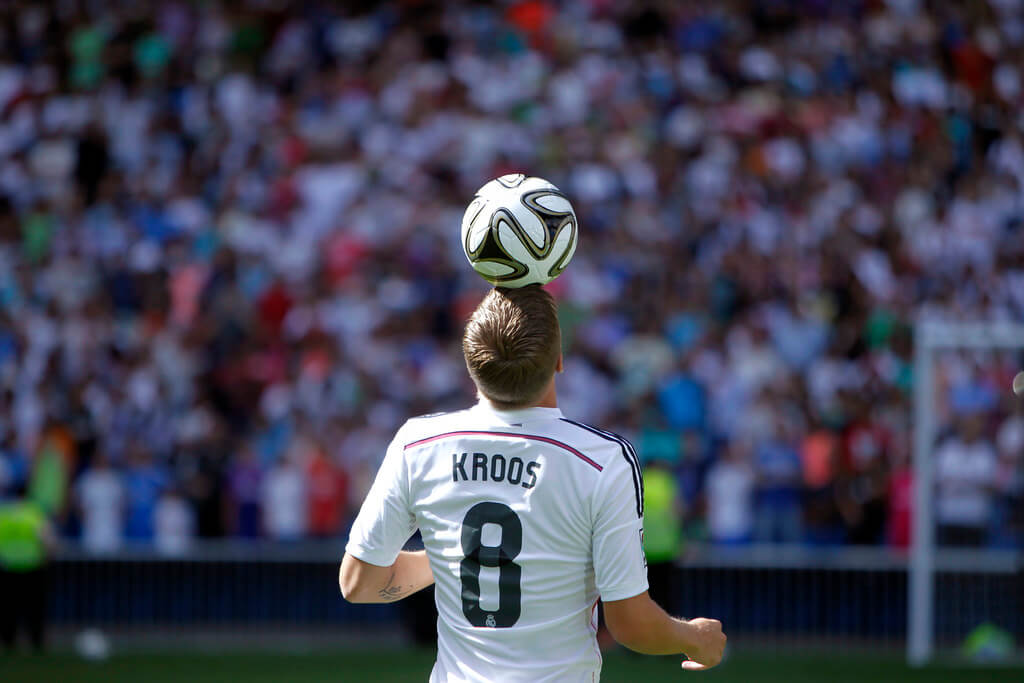 Toni Kroos's Jersey No 8 - Real Madrid CF